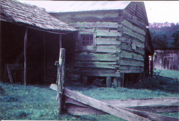 Birthplace of R. Lee Strong, Reedsville, 1904.