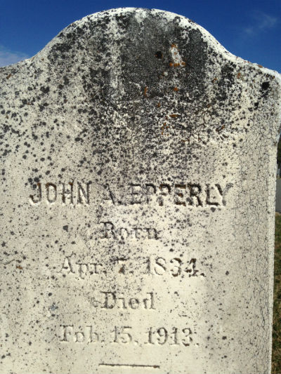 Epperly tombstone