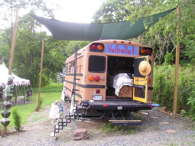 bus from rear
