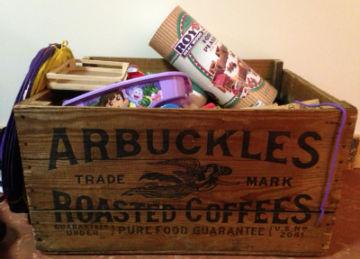 Arbuckles toy box