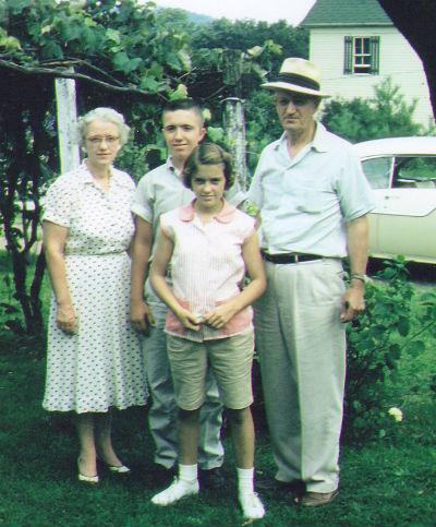 Phillips family, 1957.