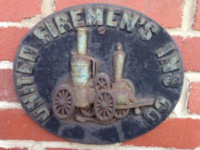 Firemen plaque